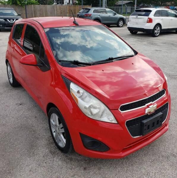2014 Chevrolet Spark for sale at Apex Auto SA in San Antonio TX