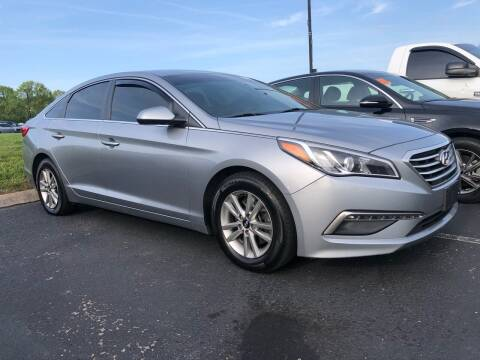 2015 Hyundai Sonata for sale at COUNTRYSIDE AUTO SALES 2 in Russellville KY