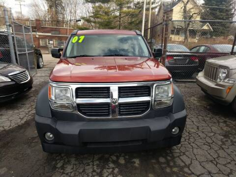 2007 Dodge Nitro for sale at Six Brothers Auto Sales in Youngstown OH