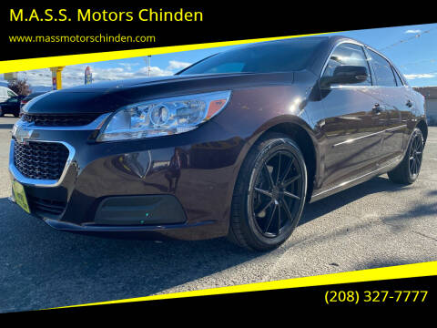 2015 Chevrolet Malibu for sale at MASS Motors West Fairview in Boise ID