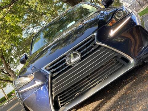 2019 Lexus IS 300 for sale at HIGH PERFORMANCE MOTORS in Hollywood FL