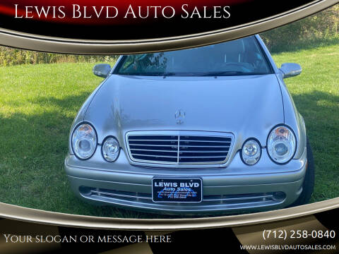 2002 Mercedes-Benz CLK for sale at Lewis Blvd Auto Sales in Sioux City IA