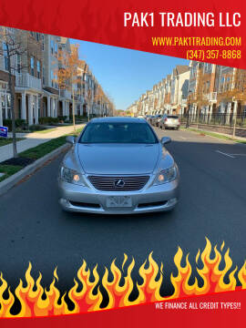 2008 Lexus LS 460 for sale at Pak1 Trading LLC in South Hackensack NJ