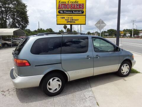 2000 Toyota Sienna for sale at Easy Credit Auto Sales in Cocoa FL