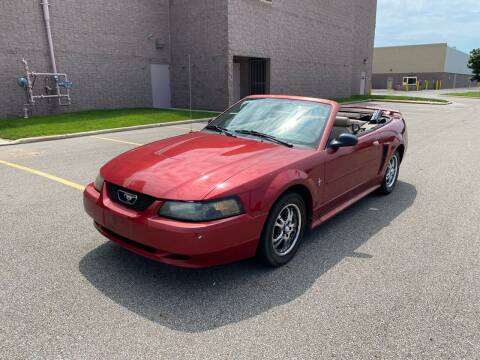 2003 Ford Mustang for sale at JE Autoworks LLC in Willoughby OH