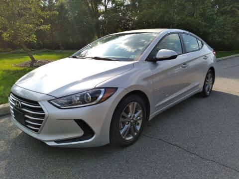 2017 Hyundai Elantra for sale at Jan Auto Sales LLC in Parsippany NJ