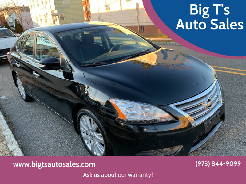 2013 Nissan Sentra for sale at Big T's Auto Sales in Belleville NJ