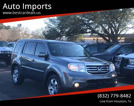 2013 Honda Pilot for sale at Auto Imports in Houston TX