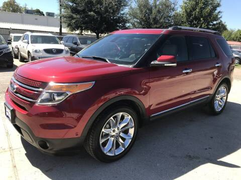 2014 Ford Explorer for sale at AMIGO USED CARS in Houston TX