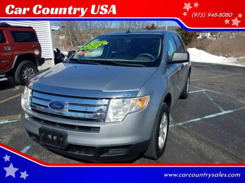 2007 Ford Edge for sale at Car Country USA in Augusta NJ