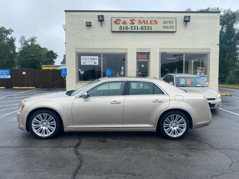 2012 Chrysler 300 for sale at C & S SALES in Belton MO
