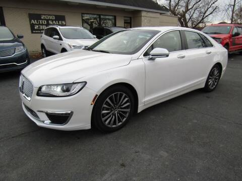 2018 Lincoln MKZ for sale at 2010 Auto Sales in Troy NY