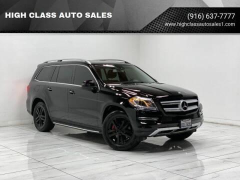 2015 Mercedes-Benz GL-Class for sale at HIGH CLASS AUTO SALES in Rancho Cordova CA