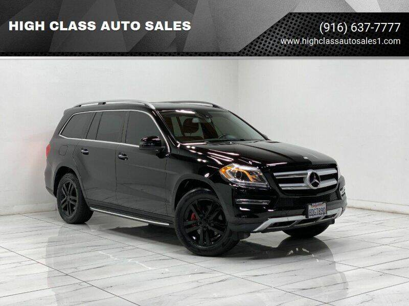 2015 Mercedes-Benz GL-Class for sale at HIGH CLASS AUTO SALES in Rancho Cordova CA