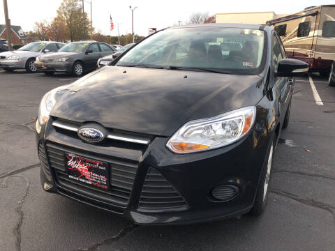 2014 Ford Focus for sale at Mike's Auto Sales INC in Chesapeake VA