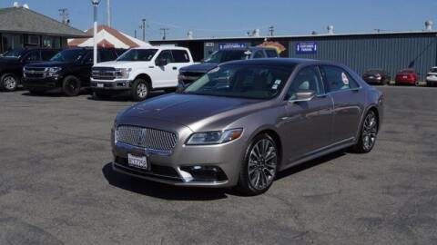 2018 Lincoln Continental for sale at Choice Motors in Merced CA