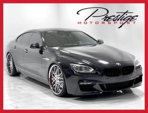 2015 BMW 6 Series for sale at Prestige Motorsport in Rancho Cordova CA
