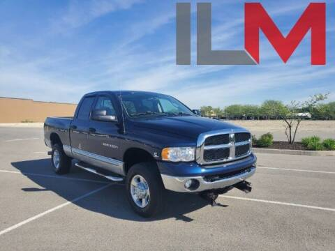 2003 Dodge Ram Pickup 2500 for sale at INDY LUXURY MOTORSPORTS in Fishers IN