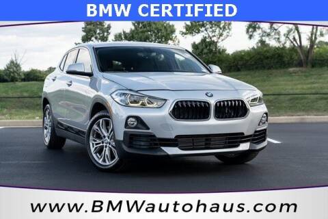 2018 BMW X2 for sale at Autohaus Group of St. Louis MO - 3015 South Hanley Road Lot in Saint Louis MO