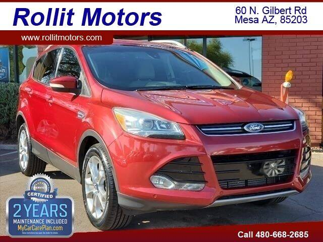 2014 Ford Escape for sale at Rollit Motors in Mesa AZ