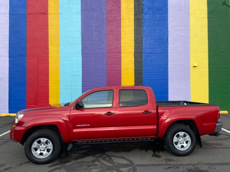 2015 Toyota Tacoma for sale at JOSE MESA AUTO WHOLESALE , LLC in Portland OR