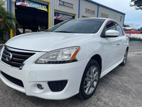 2014 Nissan Sentra for sale at RoMicco Cars and Trucks in Tampa FL