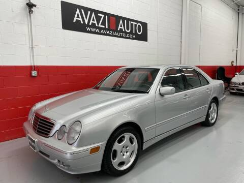 2002 Mercedes-Benz E-Class for sale at AVAZI AUTO GROUP LLC in Gaithersburg MD