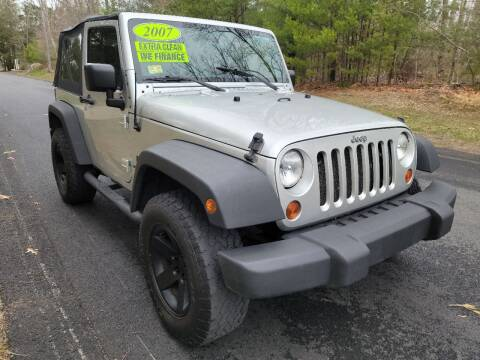 2007 Jeep Wrangler for sale at Showcase Auto & Truck in Swansea MA