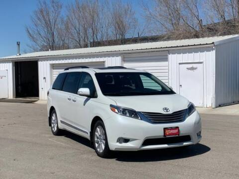 2017 Toyota Sienna for sale at Rocky Mountain Commercial Trucks in Casper WY