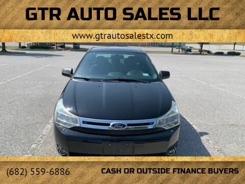 2011 Ford Focus for sale at GTR Auto Sales LLC in Haltom City TX