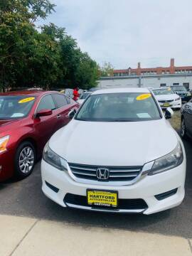 2013 Honda Accord for sale at Hartford Auto Center in Hartford CT