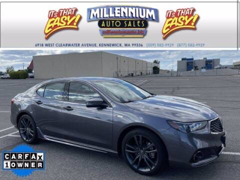 2019 Acura TLX for sale at Millennium Auto Sales in Kennewick WA