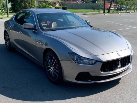 2014 Maserati Ghibli for sale at Consumer Auto Credit in Tampa FL
