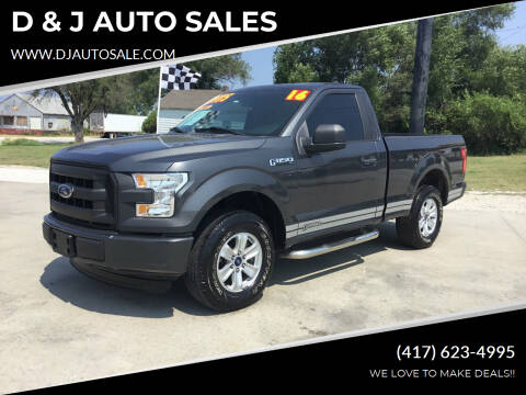 2016 Ford F-150 for sale at D & J AUTO SALES in Joplin MO