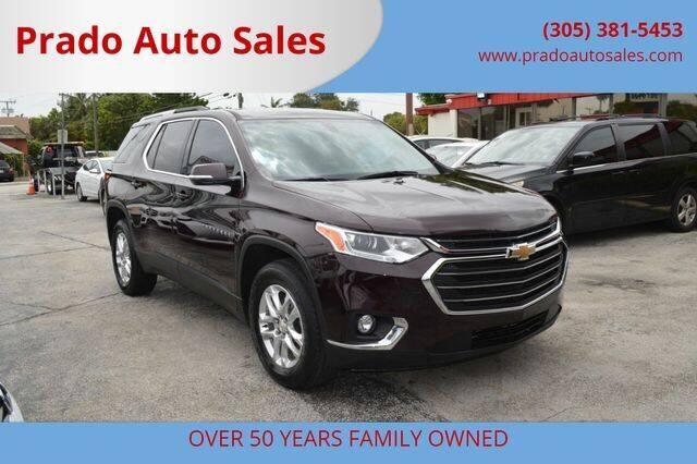 2018 Chevrolet Traverse for sale at Prado Auto Sales in Miami FL