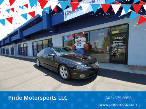 2004 Pontiac GTO for sale at Pride Motorsports LLC in Phoenix AZ