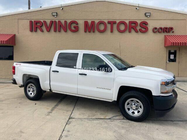 2018 Chevrolet Silverado 1500 for sale at Irving Motors Corp in San Antonio TX