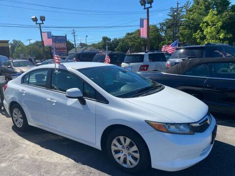 2012 Honda Civic for sale at Primary Motors Inc - Primary Auto Mall in Fort Myers FL