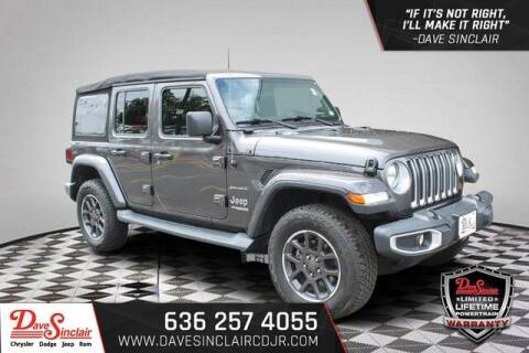 2019 Jeep Wrangler Unlimited for sale at Dave Sinclair Chrysler Dodge Jeep Ram in Pacific MO