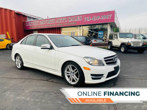2014 Mercedes-Benz C-Class for sale at LUXURY IMPORTS AUTO SALES INC in North Branch MN