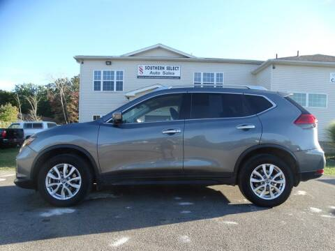 2017 Nissan Rogue for sale at SOUTHERN SELECT AUTO SALES in Medina OH