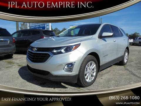 2018 Chevrolet Equinox for sale at JPL AUTO EMPIRE INC. in Auburndale FL