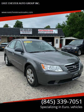 2009 Hyundai Sonata for sale at EAST CHESTER AUTO GROUP INC. in Kingston NY