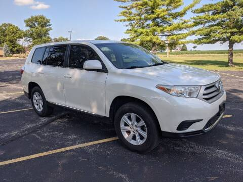 2013 Toyota Highlander for sale at Tremont Car Connection in Tremont IL