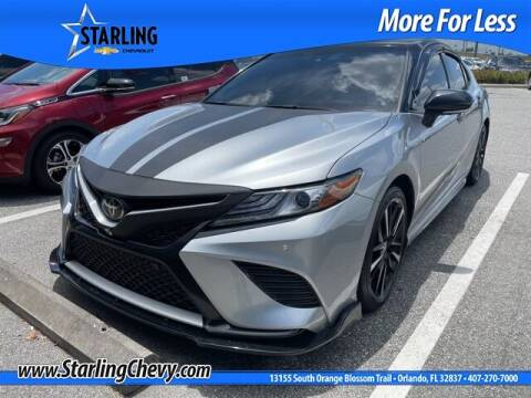 2019 Toyota Camry for sale at Pedro @ Starling Chevrolet in Orlando FL