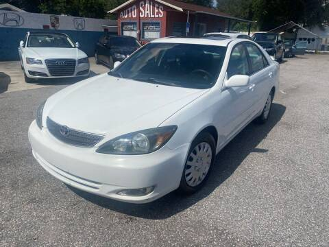 2002 Toyota Camry for sale at CHECK  AUTO INC. in Tampa FL