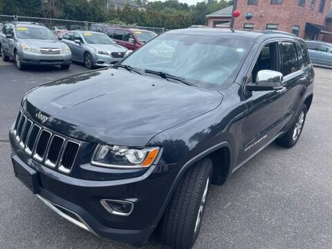 2014 Jeep Grand Cherokee for sale at KINGSTON AUTO SALES in Wakefield RI