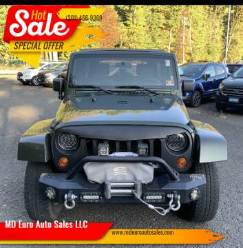 2007 Jeep Wrangler Unlimited for sale at MD Euro Auto Sales LLC in Hasbrouck Heights NJ