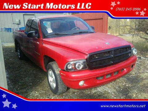 1997 Dodge Dakota for sale at New Start Motors LLC - Crawfordsville in Crawfordsville IN
