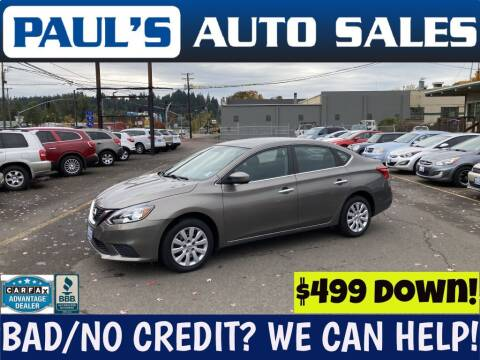 2016 Nissan Sentra for sale at Paul's Auto Sales in Eugene OR